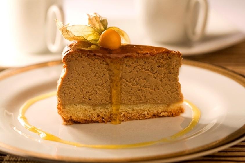 Cheesecake de café comleite