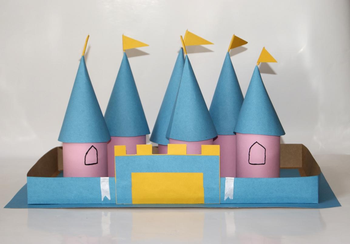 Aprenda a fazer um castelo medieval com seufilho