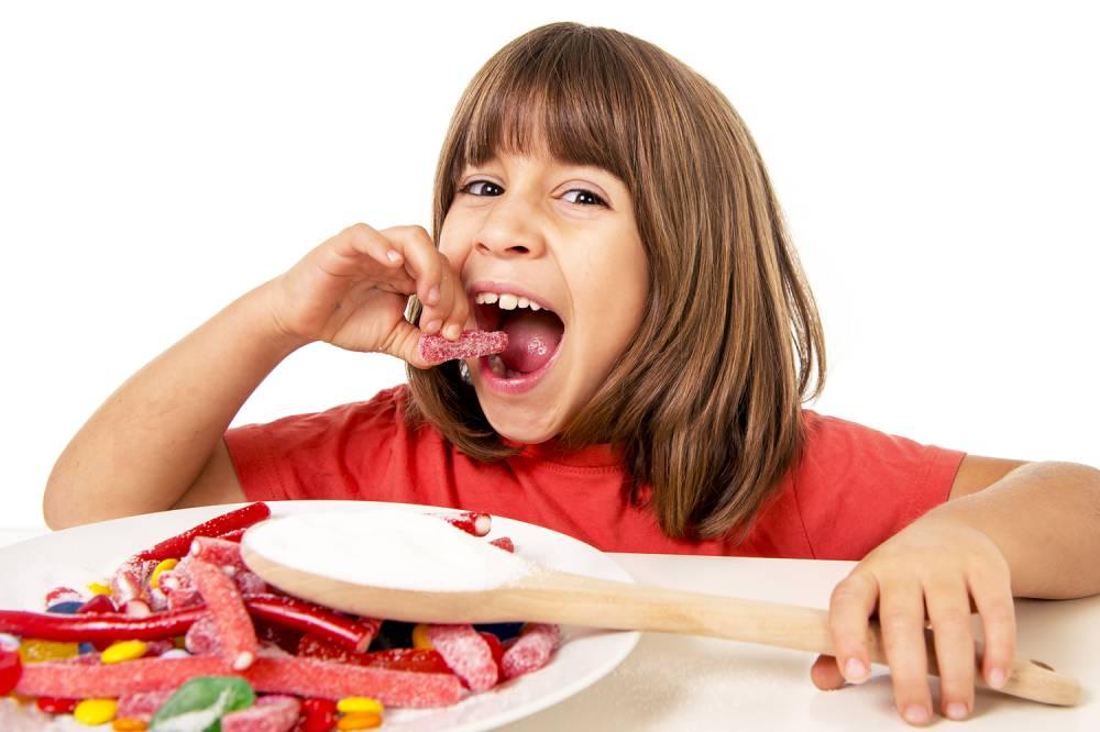 Crianças são as maiores vítimas do alto consumo deaçúcar