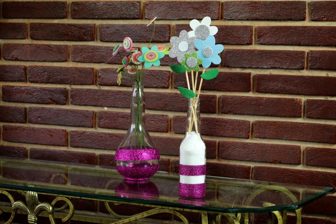 Aprenda a fazer um vaso decorativo para o Dia dasMães