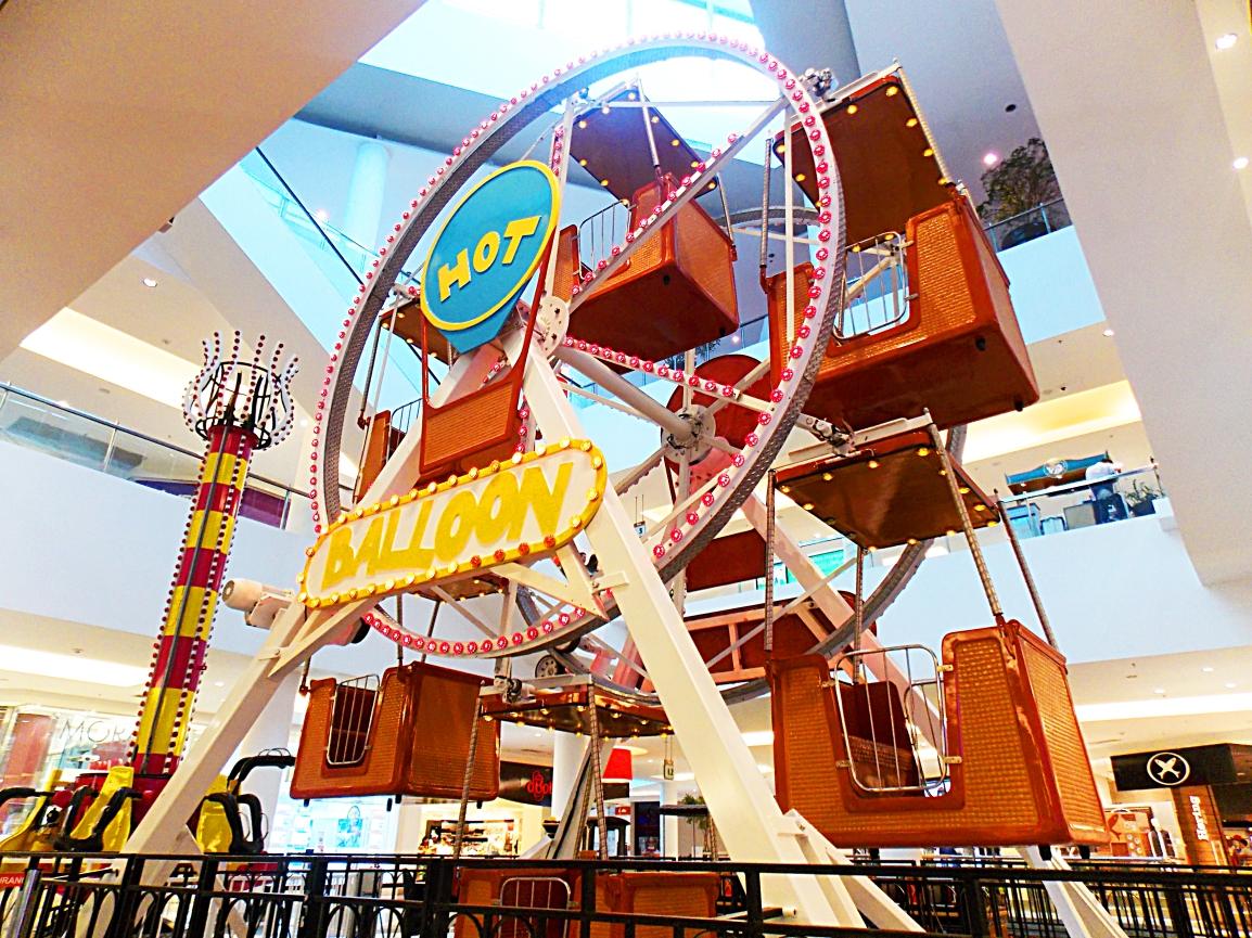 Roda-gigante, torre ioiô e trenzinho elétrico são atrações no Shopping CidadeSorocaba
