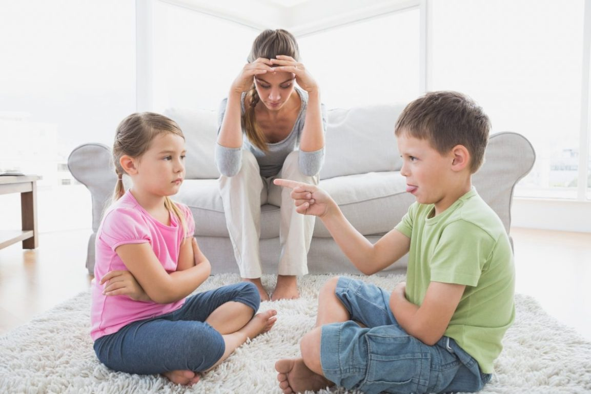 Saiba o que fazer quando os filhosbrigam