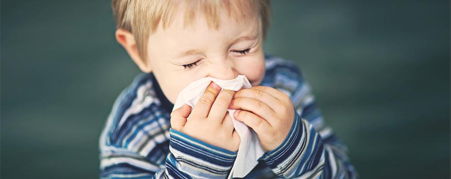Doenças respiratórias são mais frequentes em crianças com câncer n noinverno